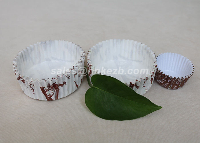 Sweety Single Wall Cupcake Paper Cases , Frozen Yogurt Paper Cups For Party